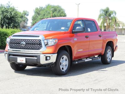 2018 Toyota Tundra 4WD SR5 CrewMax 5.5' Bed 5.7L Truck Crew Cab Short Bed - Click to see full-size photo viewer