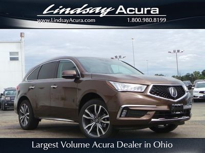 New 2019 Acura MDX 3.5L Advance Package SH-AWD SUV