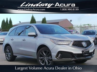New 2019 Acura MDX 3.5L Technology Pkg w/A-Spec Pkg SH-AWD SUV