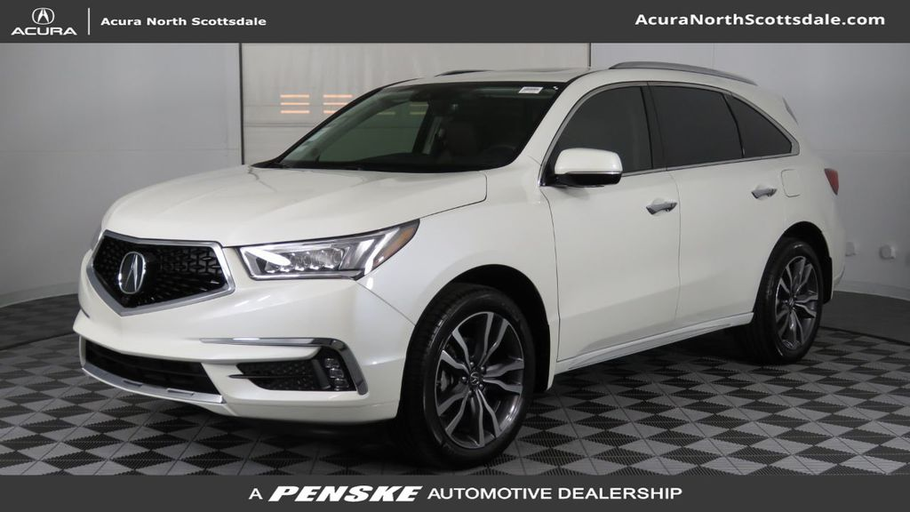 2019 Acura MDX FWD w/Advance Pkg - 18083186 - 0