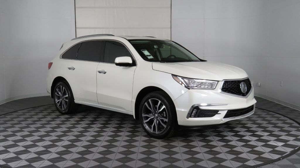 2019 Acura MDX FWD w/Advance Pkg - 18083186 - 2