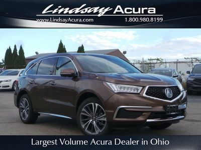 New 2019 Acura MDX w/Technology Pkg AWD SUV