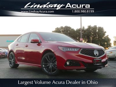 New 2019 Acura TLX 3.5L Technology Pkg w/A-Spec Pkg Sedan