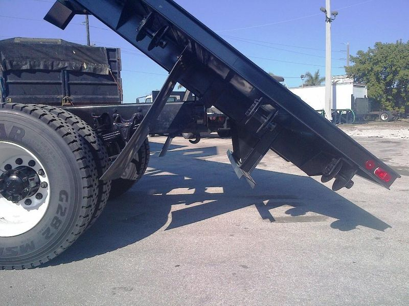 2019 ADVANCED FABRICATORS 20FB96D ..20FT STEEL FLATBED DUMP 96IN WIDE - 11735289 - 10