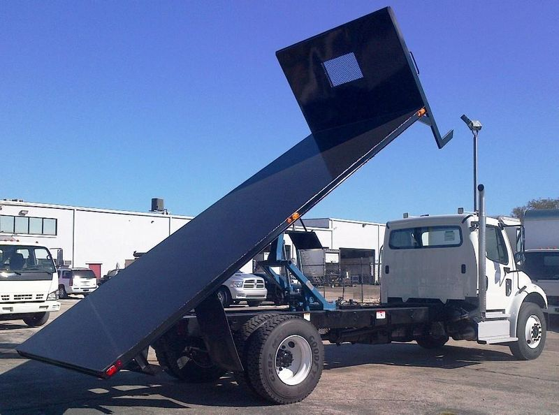 2019 ADVANCED FABRICATORS 20FB96D ..20FT STEEL FLATBED DUMP 96IN WIDE - 11735289 - 2