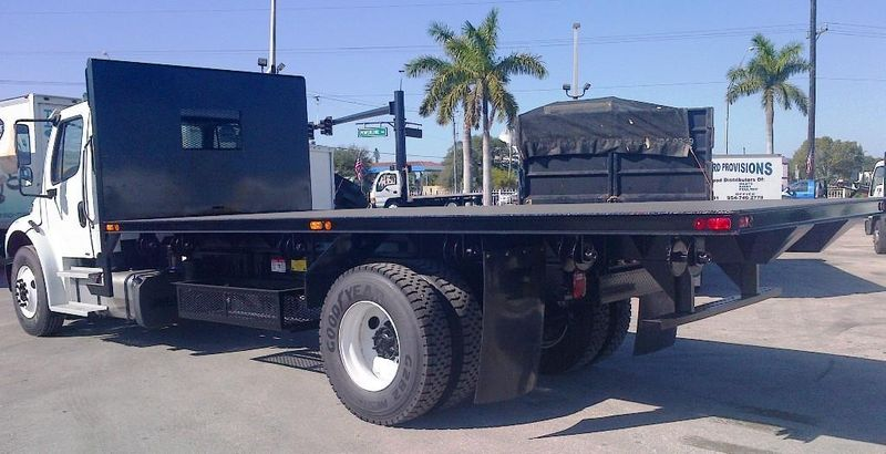 2019 ADVANCED FABRICATORS 20FB96D ..20FT STEEL FLATBED DUMP 96IN WIDE - 11735289 - 5