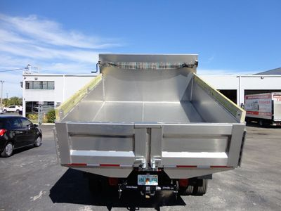 2019 ADVANCED FABRICATORS 9TD24A 9FT ALUMINUM DUMP. 24IN SIDES. STATIONARY BOX - Click to see full-size photo viewer