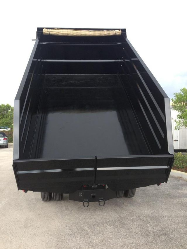 2019 ADVANCED FABRICATORS C 14LD48S .. 14ft Steel Landscape Dump Body - 11589572 - 2