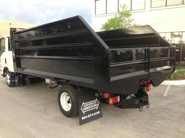 2019 ADVANCED FABRICATORS C 14LD48S .. 14ft Steel Landscape Dump Body - 11589572 - 6