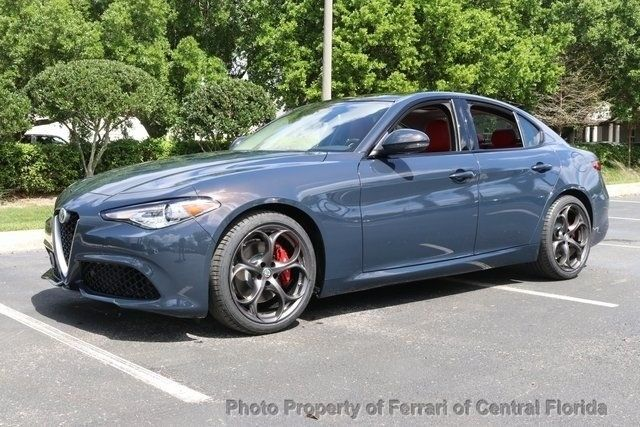 Alfa Romeo Giulia >> 2019 New Alfa Romeo Giulia Ti At Ferrari Of Central Florida Serving Orlando Fl Iid 18643521