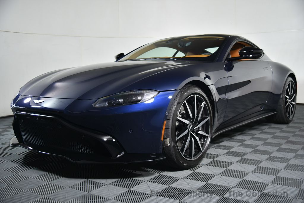 2019 New Aston Martin Vantage Coupe At The Collection Serving Coral