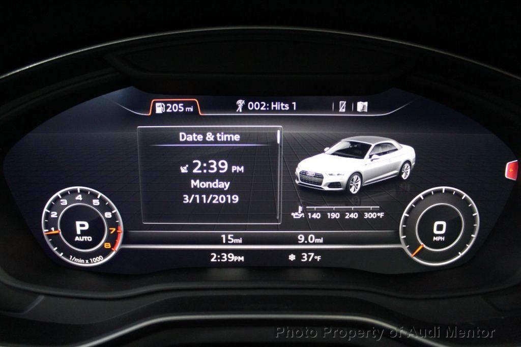2019 Audi A5 Cabriolet 2.0 TFSI Premium Plus - 18691277 - 19