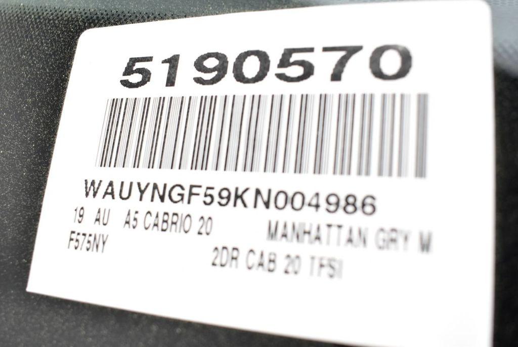 2019 Audi A5 Cabriolet 2.0 TFSI Premium Plus - 18846602 - 41