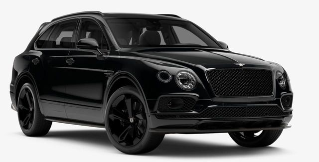 2019 New Bentley Bentayga V8 Black Specification At Towbin