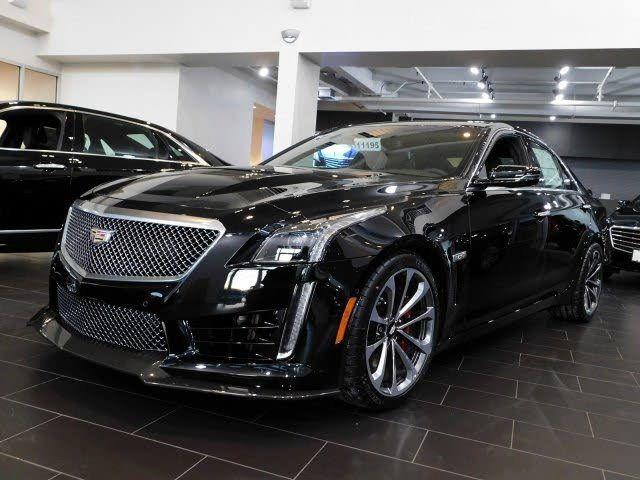 2019 Cadillac CTS-V Sedan 4dr Sedan Sedan for Sale Red ...
