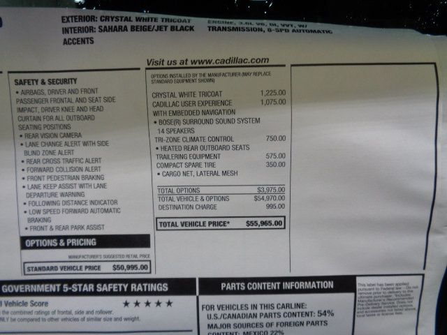 2019 Cadillac XT5 AWD Luxury - 18208663 - 4