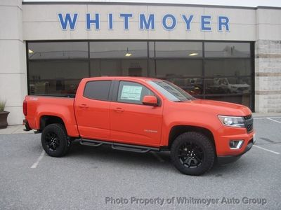 "New 2019 Chevrolet Colorado 4WD Crew Cab 128.3"" Z71 Truck"