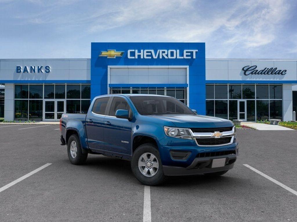 2019 New Chevrolet Colorado 4WD Crew Cab Short Box WT at ...