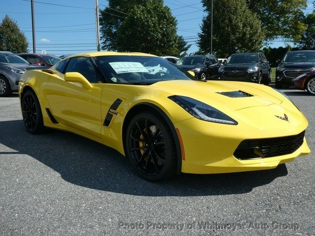 2019 Chevrolet Corvette 2dr Grand Sport Coupe w/1LT