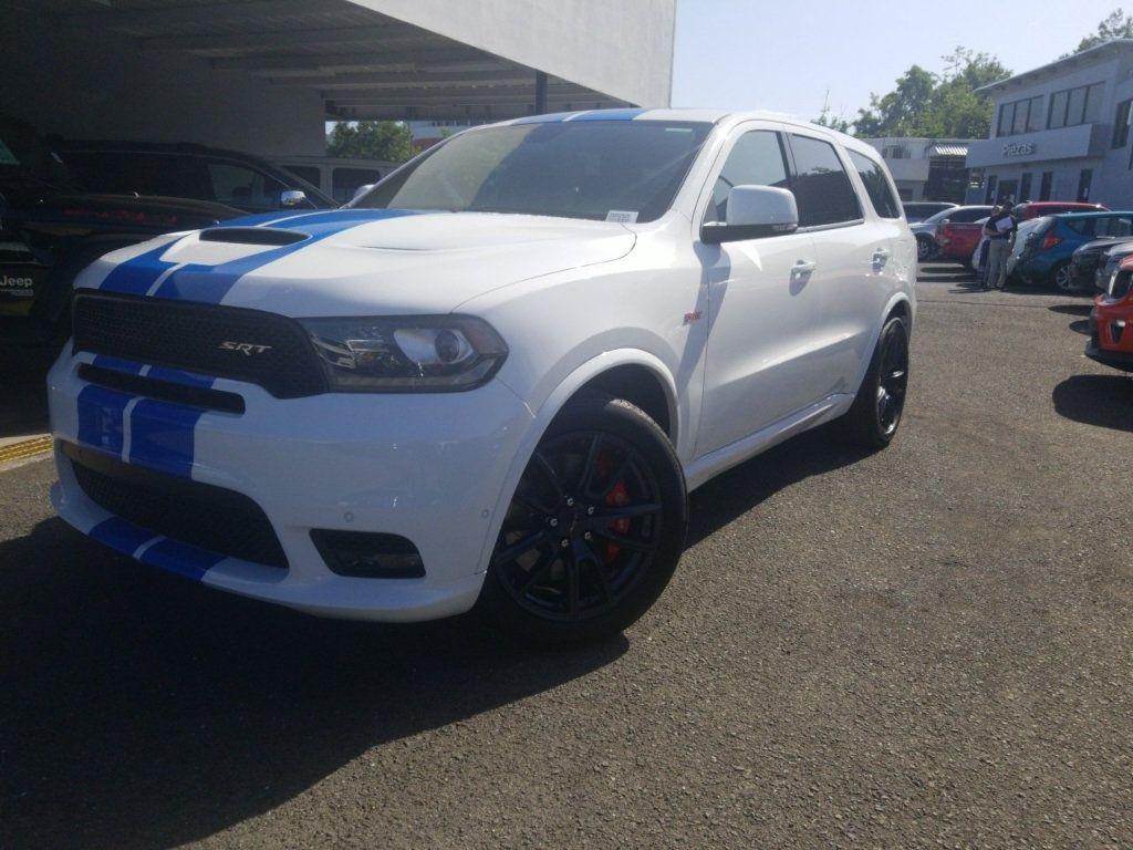 2019 New Dodge Durango Srt Awd At Triangle Chrysler Jeep Dodge Fiat