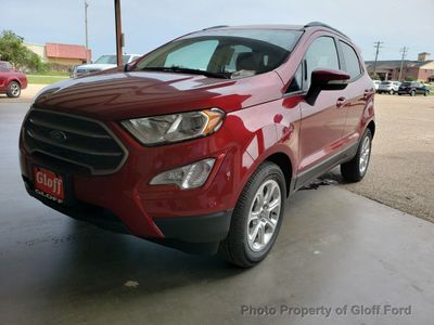 New 2019 Ford EcoSport SE FWD SUV