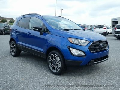New 2019 Ford EcoSport SES 4WD SUV
