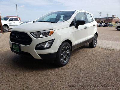 New 2019 Ford EcoSport S FWD SUV
