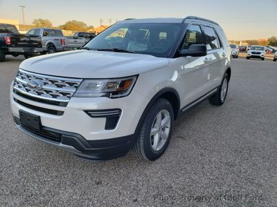 New 2019 Ford Explorer XLT FWD SUV