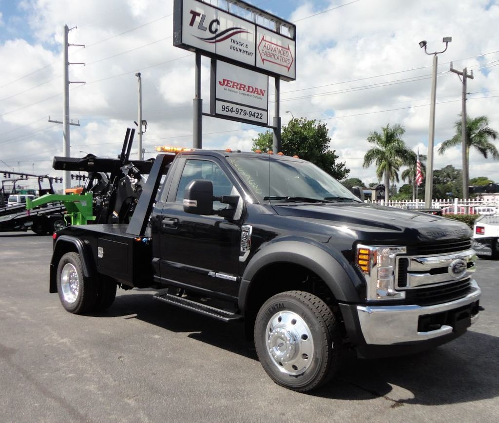 Ford F 450 Towing: 2019 New Ford F450 XLT JERR-DAN MPL-NGS WRECKER TOW TRUCK