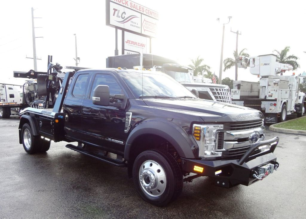 2019 Ford F550 XLT 4X4. MPL40 WRECKER TOW TRUCK JERR-DAN. EXENTED CAB - 19531209 - 0