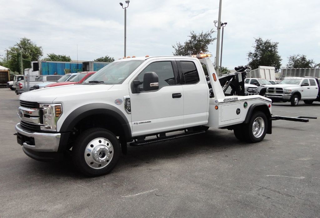 ford  xlt jerr  mpl wrecker tow truck  exented cab  tri leasing corp