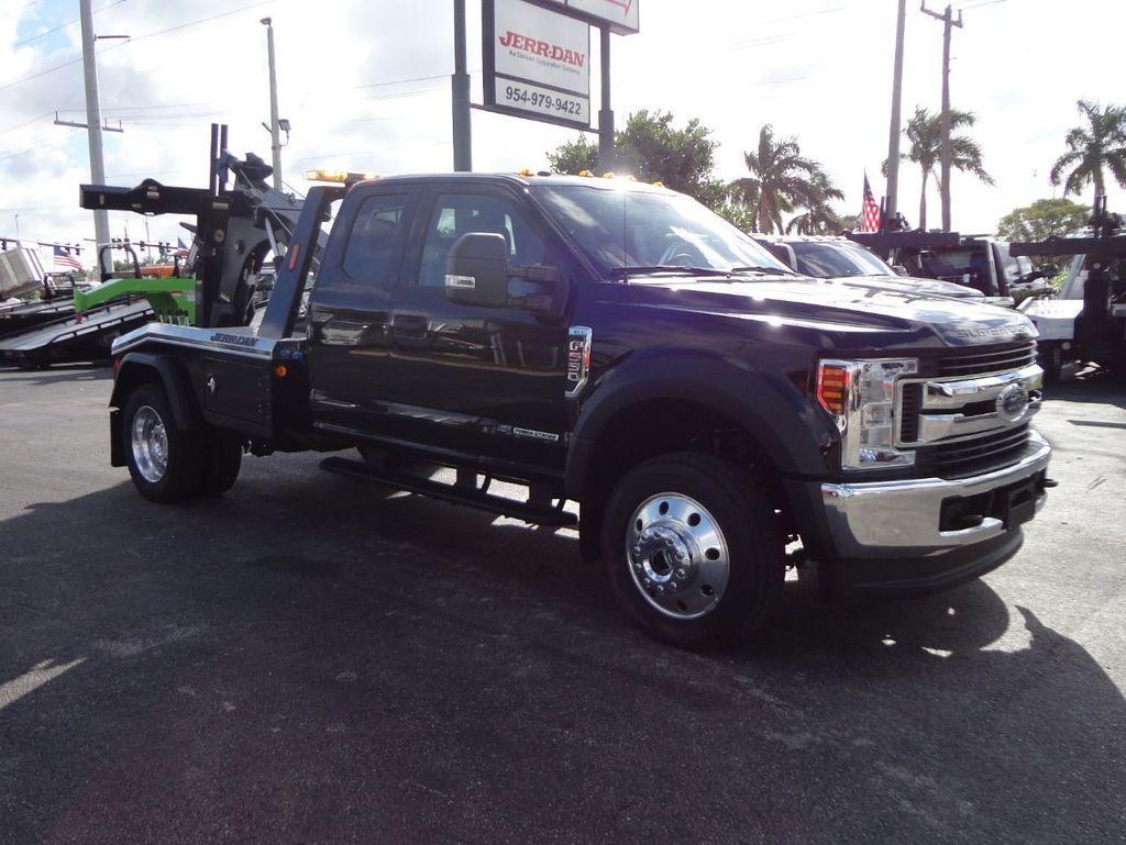 2019 ford f550 xlt mpl40 wrecker tow truck jerr dan 4x4 exented cab