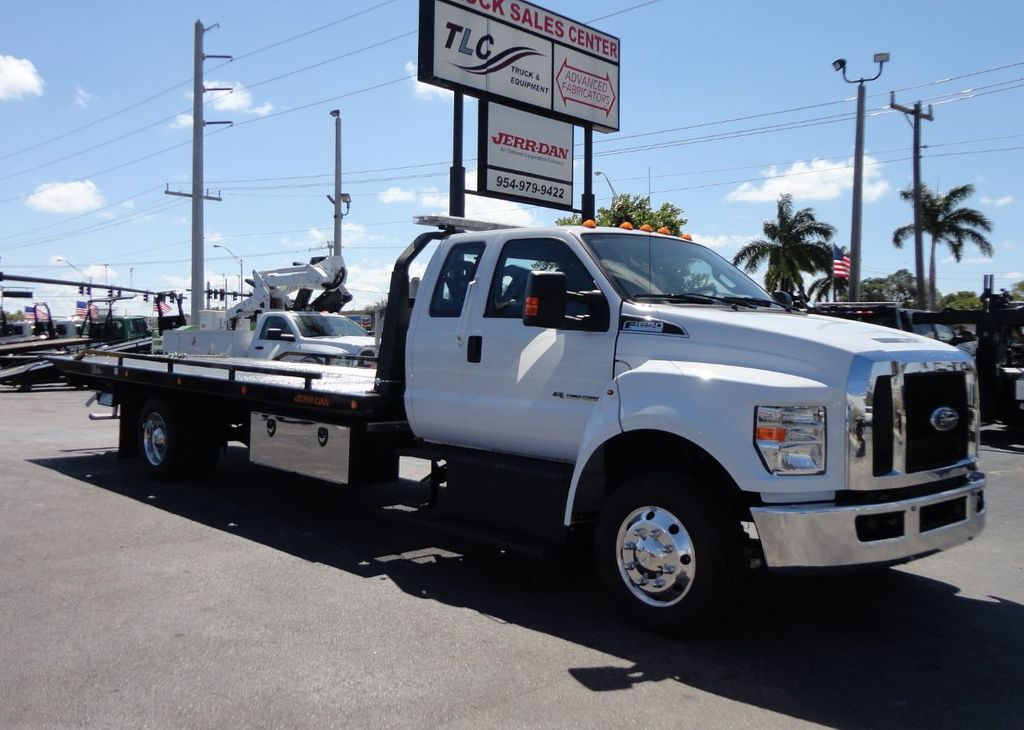2019 New Ford F650 22FT JERRDAN ROLLBACK TOW TRUCK ...
