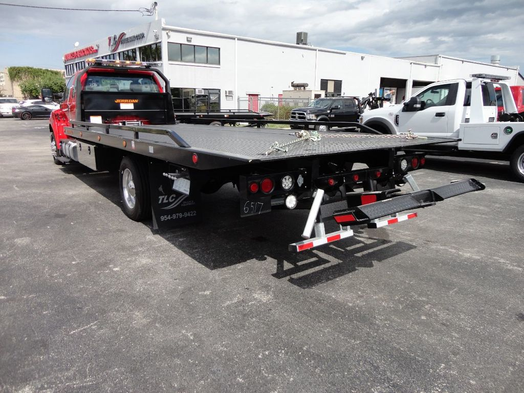 2019 Ford F650 22FT JERRDAN ROLLBACK TOW TRUCK.. 22SRR6T-W-LP (LCG) - 18238337 - 11