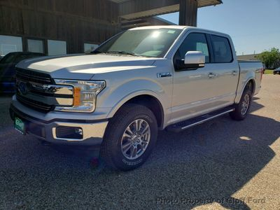 New 2019 Ford F-150 LARIAT 4WD SuperCrew 5.5' Box Truck