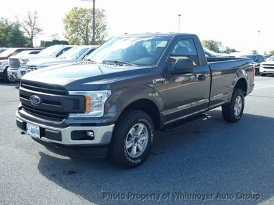 2019 Ford F-150 XL 4WD Reg Cab 8' Box - Click to see full-size photo viewer