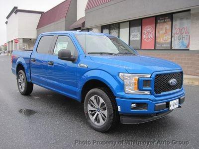 New 2019 Ford F-150 XL 4WD SuperCrew 5.5' Box Truck