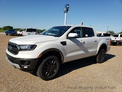 New 2019 Ford Ranger LARIAT 2WD SuperCrew 5' Box Truck