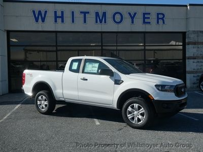 New 2019 Ford Ranger XL 4WD SuperCab 6' Box Truck