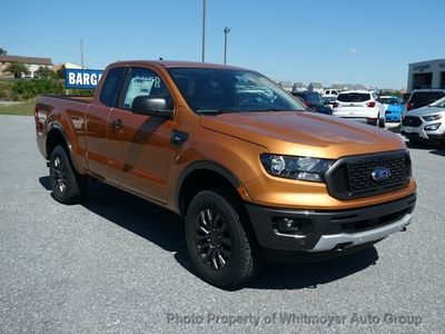 New 2019 Ford Ranger XLT 4WD SuperCab 6' Box Truck