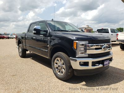 2019 Ford Super Duty F-250 SRW King Ranch 4WD Crew Cab 6.75' Box - Click to see full-size photo viewer
