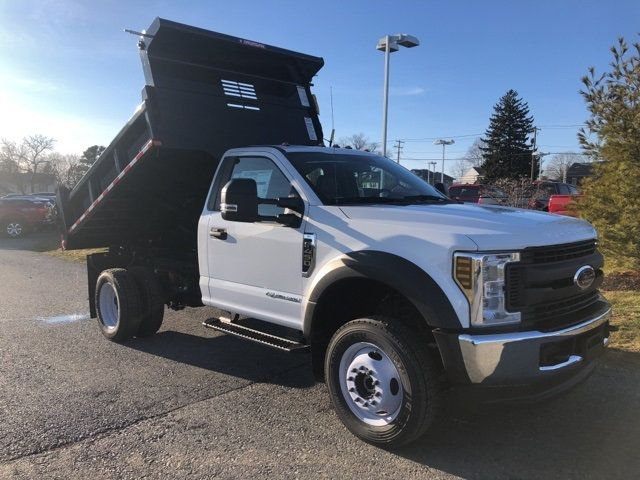 2019 Ford Super Duty F-450 DRW Cab-Chassis 9' Morgan Steel Dump Body - 18505992 - 0