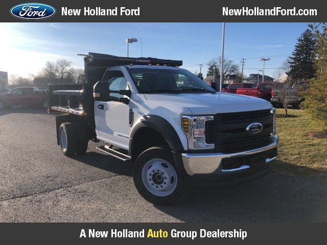 2019 Ford Super Duty F-450 DRW Cab-Chassis 9' Morgan Steel Dump Body - 18505992 - 10