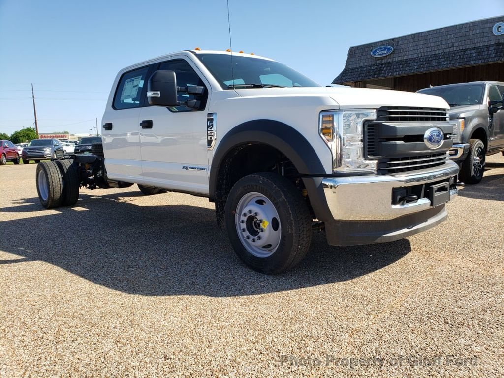 "2019 Ford Super Duty F-450 DRW Cab-Chassis XL 4WD Crew Cab 203"" WB 84"" CA - 18858565 - 2"