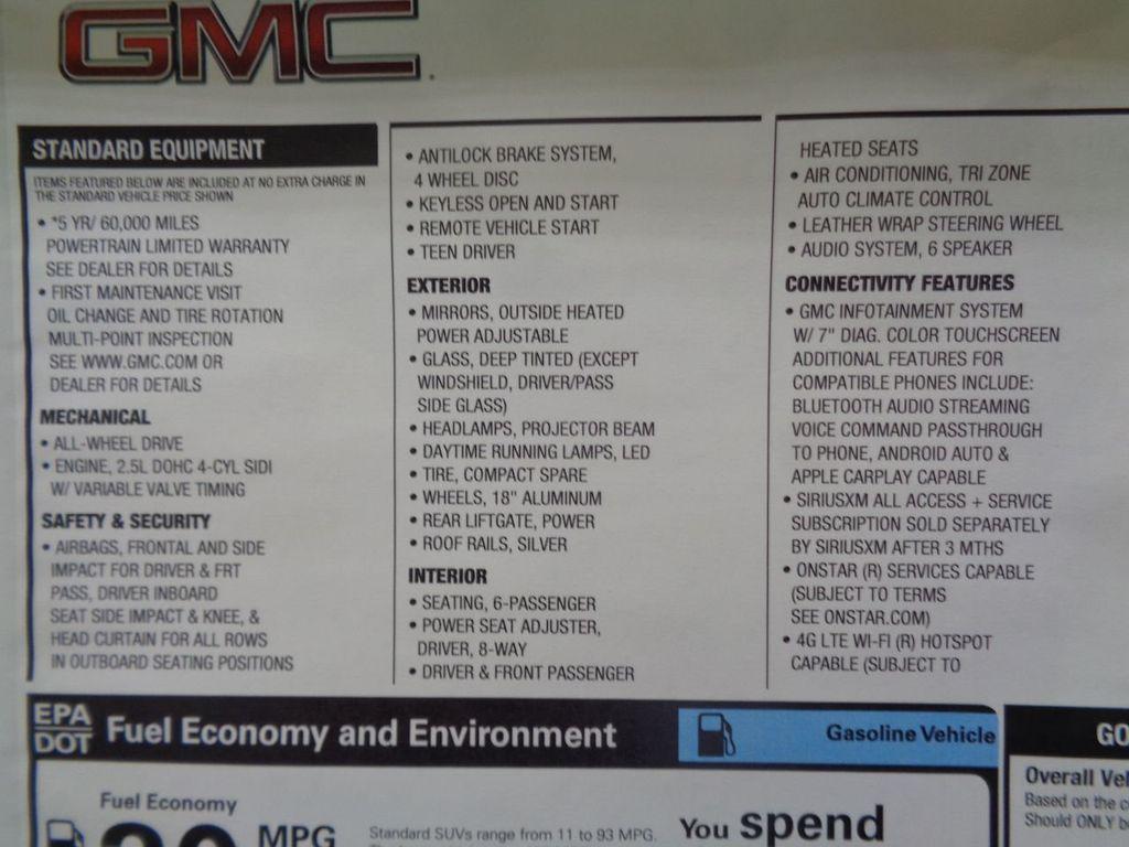 2019 GMC Acadia AWD 4dr SLE w/SLE-2 - 17947550 - 4