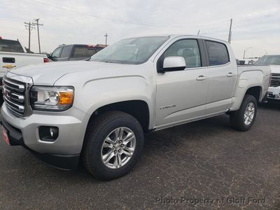"New 2019 GMC Canyon 2WD Crew Cab 128.3"" SLE Truck"