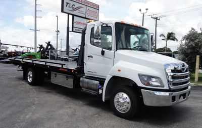 New 2019 HINO 258ALP 22FT XLP (LCG) JERRDAN ROLL-BACK..AIR BRAKE..AIR RIDE..