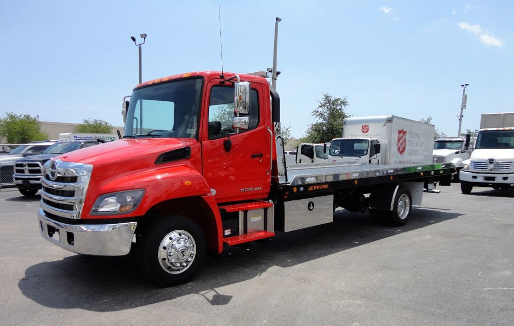2019 HINO 258ALP 260HP 22FT XLP LCG JERRDAN ROLL-BACK.AIR BRAKE.AIR RIDE - 17538473 - 0