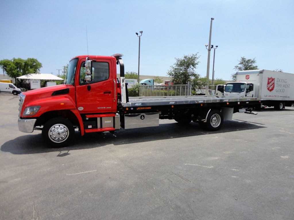 2019 HINO 258ALP 260HP 22FT XLP LCG JERRDAN ROLL-BACK.AIR BRAKE.AIR RIDE - 17538473 - 1