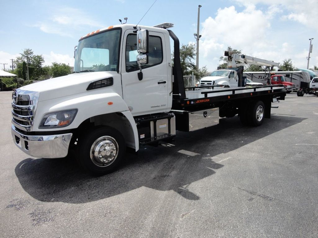 2019 HINO 258LP 21FT X 96 WIDE JERRDAN ROLLBACK..HYD BRAKE.SPRING RIDE - 17687180 - 0